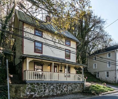 This 1,174-square-foot house in historic Ellicott City is on the market for $349,000.