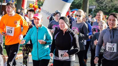 Runners and walkers raised more than $25,000 in the ninth annual Heather Hurd 5K.