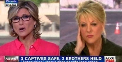 Ashleigh Banfield, Nancy Grace and CNN going all out to have a total on-location feel to its coverage.