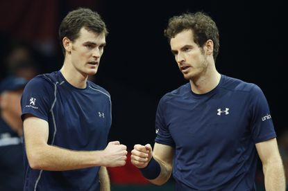 Andy Murray will play doubles with brother Jamie in Washington