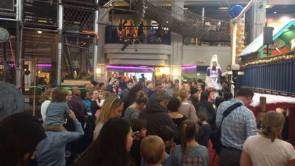 Port Discovery Children's Museum on Sunday hosted the 19th annual Noontime New Year's Eve Celebration.