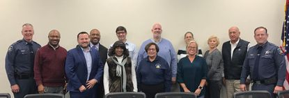 Harford Sheriff Jeffrey Gahler hosted the first meeting Thursday of the Sheriff Community Board, a group that will bring a non-police perspective to helping the agency build a better relationship with the community.