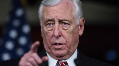 "A candidate in a Colorado Democratic primary says Maryland Rep. Steny Hoyer and the Democratic party went too far by using ""top-heavy tactics"" to encourage him to leave the race."