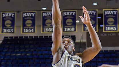 Abdullah leads Navy to thrilling victory over Holy Cross