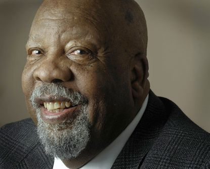 Ret. Lt. Cmdr. Wesley A. Brown was the first African-American graduate of the Naval Academy.