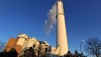 The BRESCO waste-to-energy incinerator in South Baltimore. FILE