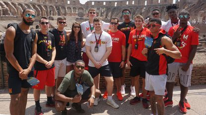 Sports Digest (Aug. 6): Terps men's basketball tops Rome All-Stars, 89-53, to open Italy trip