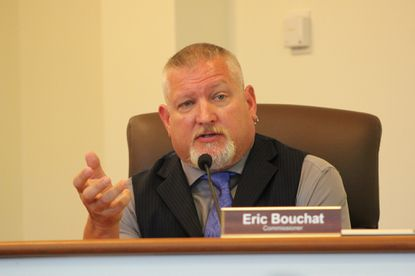 Carroll County Commissioner Eric Bouchat, R-District 4, says he has discussed a potential run for a seat in the state legislature, though he has not made any formal speech or announcement.