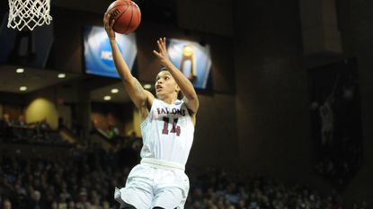 Former Pallotti standout D'Andre Stockman transferred from Division III Marymount University to Division II Fairmont State, where he averaged 11 points per game last season. Fairmont State lost to Northwest Missouri State in the national championship game.