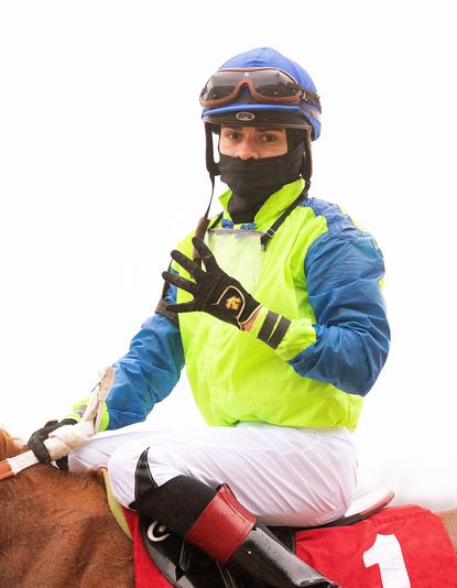Apprentice jockey Alexander Crispin, 22, has been excelling at Laurel Park and is a leading candidate for an Eclipse Award as the nation's top apprentice.