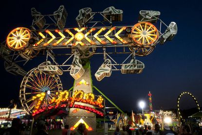 Rides such as this will be offered at the 132nd Maryland State Fair running Aug. 23-Sept. 2.