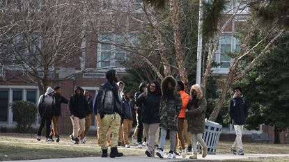 Students were dismissed early from Frederick Douglass High School on a recent day because of heating problems in the classroom.