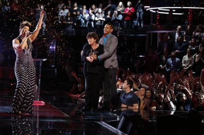 """Tessanne Chin, after being named the winner of """"The Voice."""""""