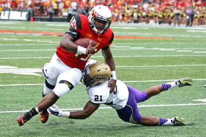 Brandon Ross led Maryland in rushing against James Madison, but fumbles could keep him on the sideline.