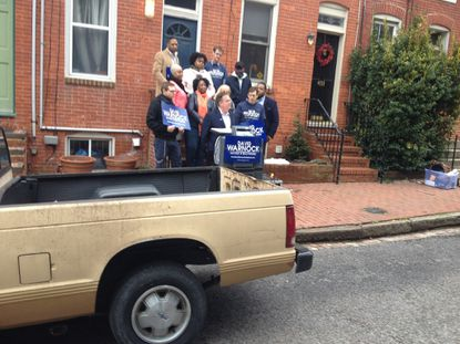 Warnock's Horatio Alger moment: Candidate launches 'Turnaround Tour' with old pickup