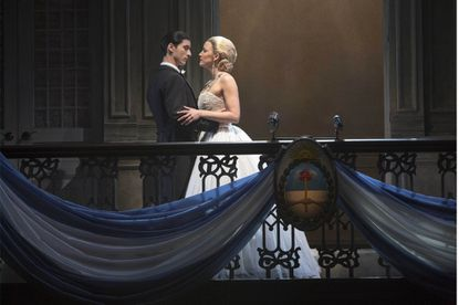 Review: Intriguingly re-imagined 'Evita' commands Pantages Theatre
