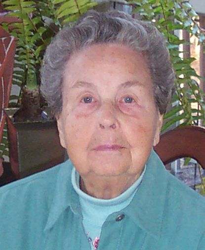 Ruth Baird Thompson died of natural causes at age 103 at her daughter's home in Chapel Hill, N.C., on Dec. 16, 2014.