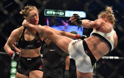 Holly Holm stuns Ronda Rousey with knockout in UFC 193