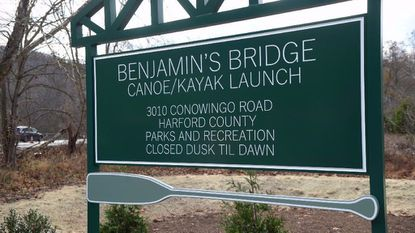 Harford County Parks and Recreation recently opened Benjamin's Bridge canoe and kayak launch off Route 1 north of the Deer Creek bridge. The area is named for the late Benjamin Boniface, who was a Deer Creek kayaking enthusiast.