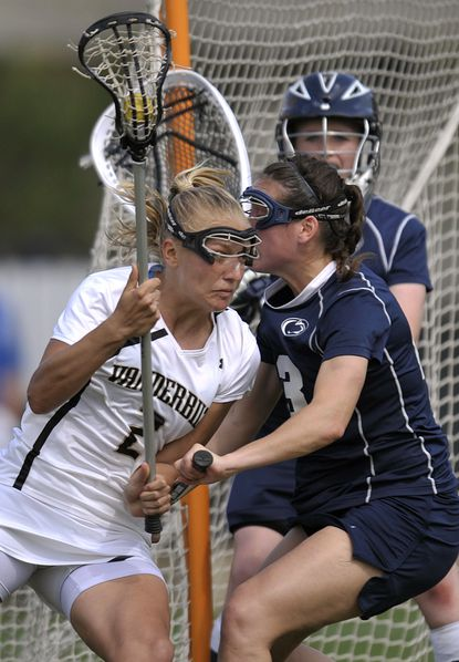 Midfielder Ally Carey leads No. 18 Vanderbilt (7-5) in goals (22), points (31), draw controls (60) and caused turnovers (12) and is the Commodores' all-time leader in draw controls with 223.