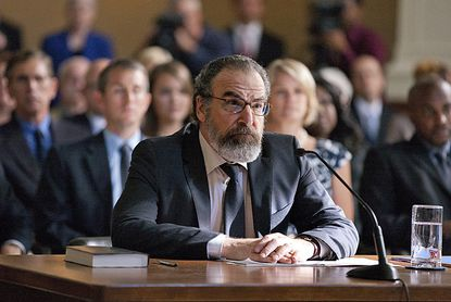 "Saul Berenson (played by Mandy Patinkin) in ""Homeland."""