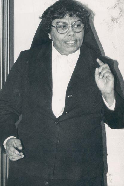 Sister Mary Reginald Gerdes made St. Frances Academy coeducational.