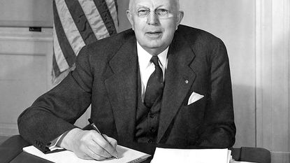 A longstanding contemporary of John Cunningham, Westminster Mayor Joseph L. Mathias served on the Westminster Common Council May 1927 to May 1937 and as mayor from May 18, 1942 to December 3, 1963.