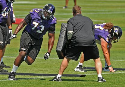 Rookie offensive lineman Kelechi Osemele is expected to be one of the players to see a little playing time Thursday.