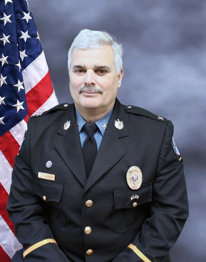 Col. Larry Suther retired from the Carroll County Sheriff's Office on Sept. 2, 2020.