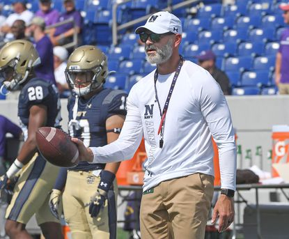 Navy defensive coordinator Brian Newberry said some of the mental mistakes and assignment errors that occurred during the season opener against BYU resurfaced against Tulane.