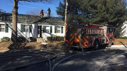 Fire investigators say an attempt to thaw a frozen pipe was the likely cause of a fire that damaged an Edgewood townhouse Sunday afternoon.