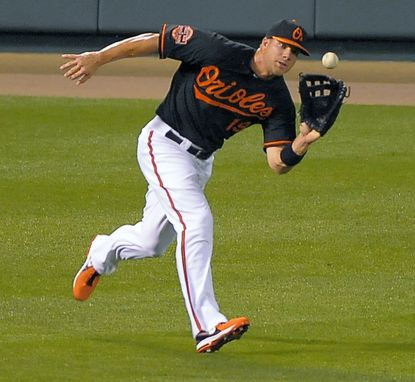 Chris Davis had some success in the outfield after being moved from first base in May, but he's been told to prepare to be the everyday first baseman again in 2013.