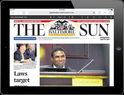 eNewspaper print newspaper replica