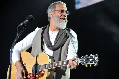 Yusuf Islam, the former Cat Stevens, invites fans aboard the Peace Train at Kennedy Center
