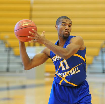 Coppin State point guard Taariq Cephas averaged 9.4 points and 4 assists as a junior last season.