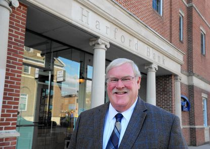 Charles Jacobs Jr. is president of Harford Bank in Aberdeen, where it has been in business on West Bel Air Avenue since it opened in 1964.