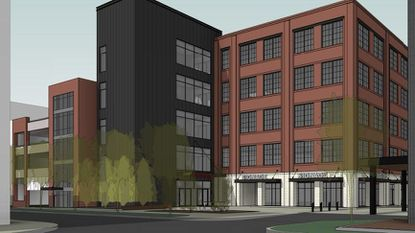 McHenry Row continues to expand in Locust Point with McHenry Row III, a five-story, 75,000-square-foot office building.