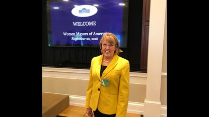 Bel Air Mayor Susan Burdette was among 100 women mayors from around the country who attended the Women Mayors of America White House Conference last month.