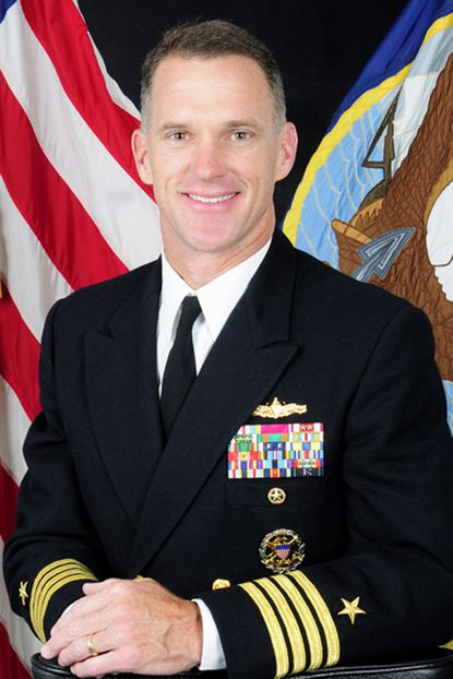 Capt. Bill Byrne has been named the new commandant of the Naval Academy.