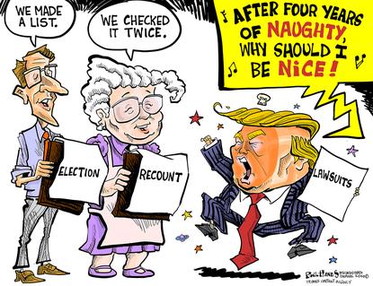 Donald Trump's erratic behavior