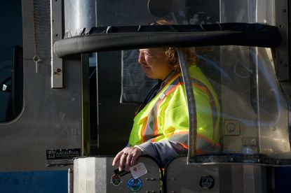 Beth Orefice, 55, of Bowleys Quarters, has worked as a Maryland Transportation Authority toll collector at the Fort McHenry Tunnel in Baltimore for seven years.