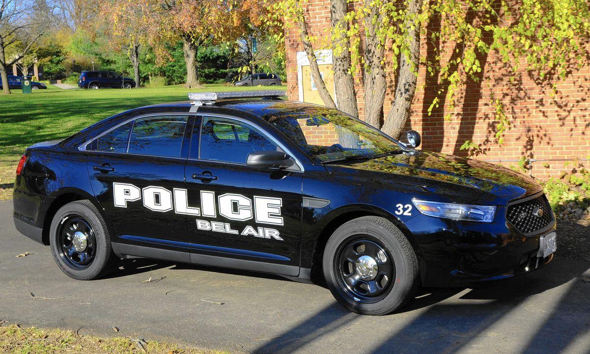 More black police cars coming to Bel Air's fleet - Baltimore Sun