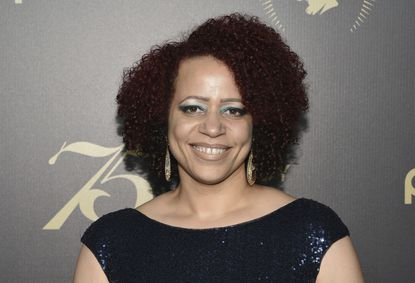 """FILE - In this May 21, 2016, file photo, Nikole Hannah-Jones attends the 75th Annual Peabody Awards Ceremony at Cipriani Wall Street in New York. A major University of North Carolina donor said Wednesday, June 2, 2021 that he sent emails to university officials questioning the hiring of Nikole Hannah-Jones after he became concerned about how much research went into the selection of the investigative journalist, whose award-winning work on slavery he called """"highly contentious and highly controversial."""" (Photo by Evan Agostini/Invision/AP, File)"""