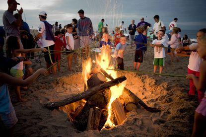 Bon fires will take place Wednesdays on the beach in Dewey Beach.