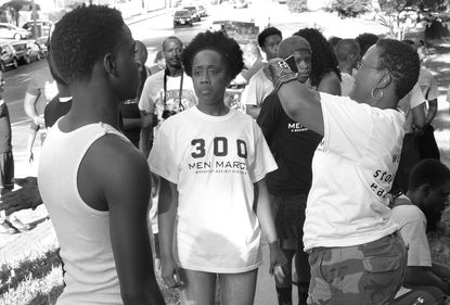 Sisters Sidelined: 300 Men March relegates women to supporting roles
