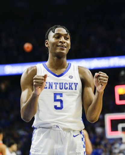 Kentucky's Immanuel Quickley was a first round NBA Draft Pick Wednesday night. Quickley is headed to the New York Knicks.