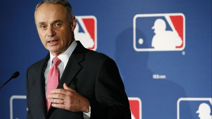 Baseball Commissioner Rob Manfred decided to delay implementation of in-action time limits on pitchers and batters.