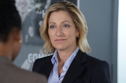 """Edie Falco as Abigail """"Tommy"""" Thomas in the CBS drama """"Tommy."""" Photo: Patrick Harbron."""