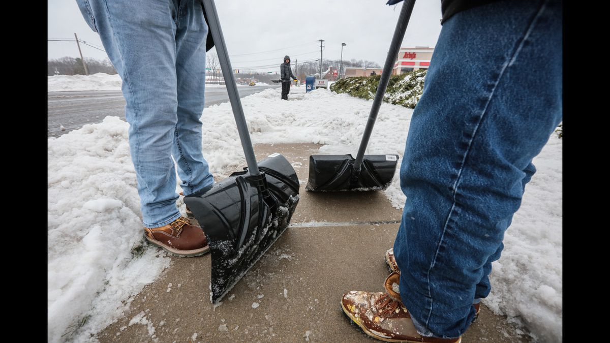 Shovel-ready: Program paying Baltimore youth to clear snow for seniors and those with disabilities accepting applications