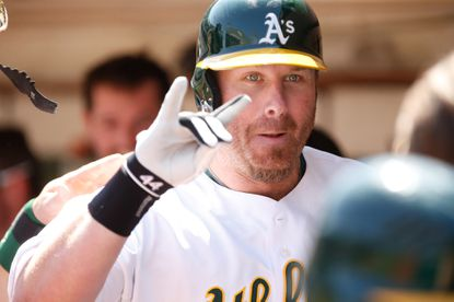 Dunn homers in his Oakland debut, A's win 6-1